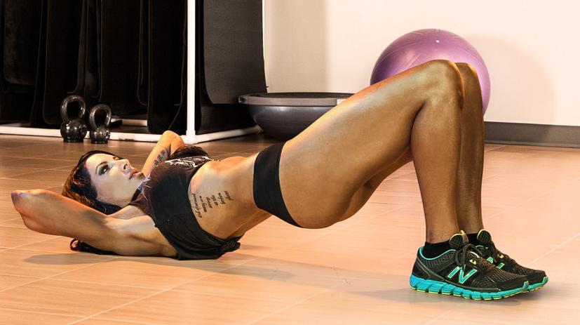 Интенсивная тренировка для похудения: Всего 4 базовых упражнения!