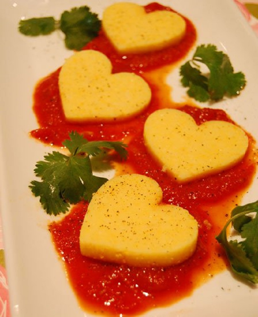 valentine-polenta